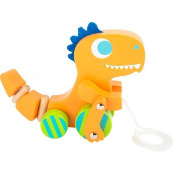 Pro nejmenší - Tahací hračka Dino