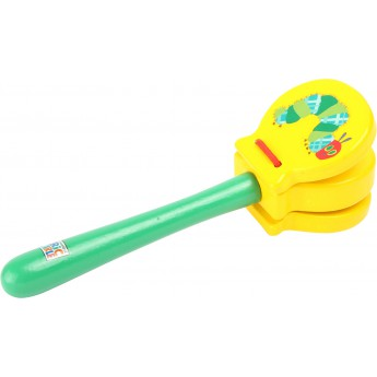 Dětské hudební nástroje - Klapačka Velmi hladová housenka