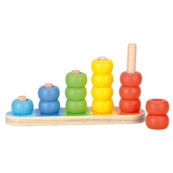 Školní potřeby - Barvy a počítání