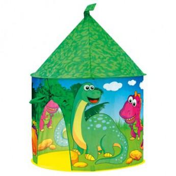 Dětský pokojíček - Stan - Dinosauří hrad