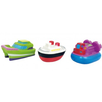 Hračky do vody - Lodičky do vany 3ks