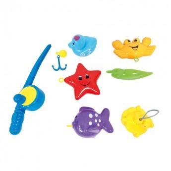Hračky do vody - Sada hraček do vany prutem