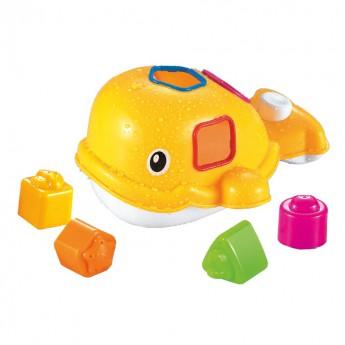 Hračky do vody - Vkládačka do vany Velryba