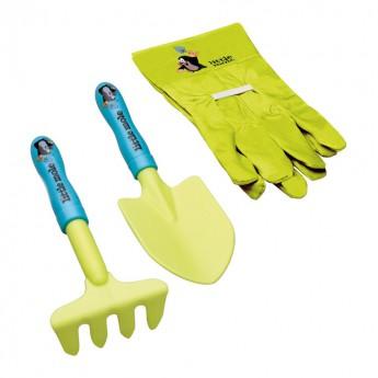 Hračky na ven - Krteček set lopatka a rukavice