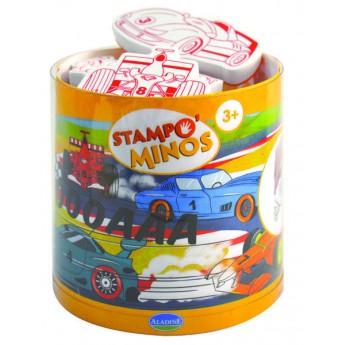 Výtvarné a kreativní hračky - Dětská razítka velká Závodní auta