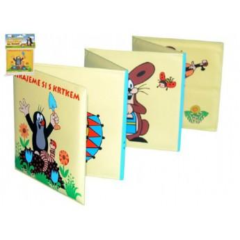 Pro nejmenší - Rozkládací knížka Krtek plast