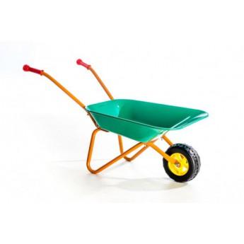 Hračky na ven - Plechové kolečko velké zelené