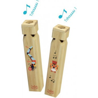 Dětské hudební nástroje - Píšťalka vláček 1 ks