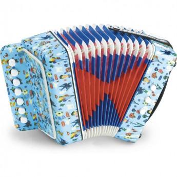Dětské hudební nástroje - Dětská tahací harmonika Nathalie
