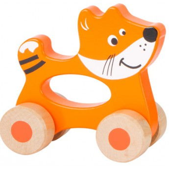 Pro nejmenší - Zvířatko na kolečkách - Liška