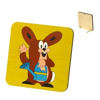 Puzzle - Zajíc s konvičkou