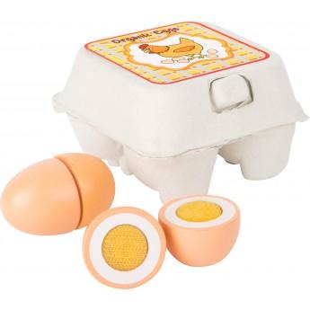 Pro holky - Dřevěná vajíčka v kartonu