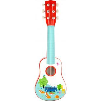 Dětské hudební nástroje - Dětská kytara Lištičky