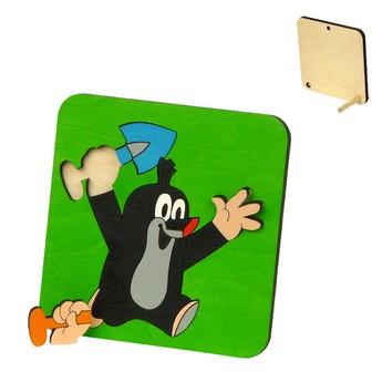 Puzzle - Krteček s lopatou