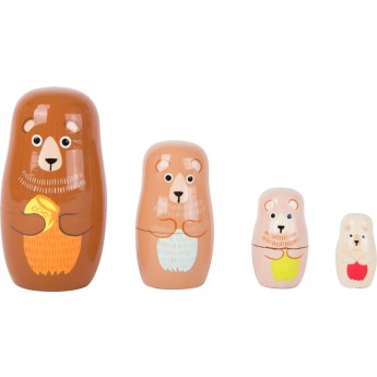 Matrioška - Medvědí rodina