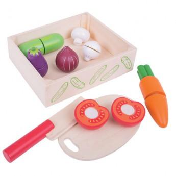 Pro holky - Krájení zeleniny v krabičce