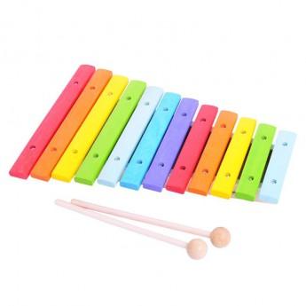 Dětské hudební nástroje - Dětské hudební nástroje - Dřevěný xylofón
