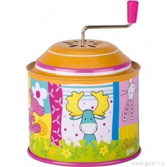 Hrací skříňky - Hrací skříňka s kličkou Susibelle