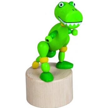 Motorické a didaktické hračky - Mačkací figurka Tyranosaurus