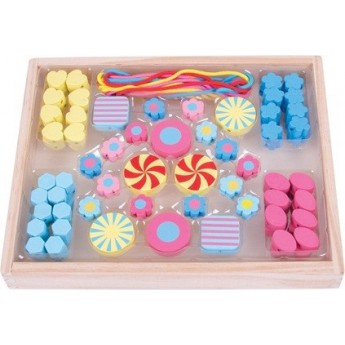 Navlékací korálky Candy