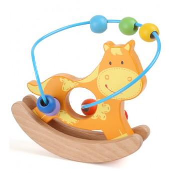 Motorické a didaktické hračky - Motorický labyrint Zvířátko - koník
