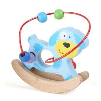 Motorické a didaktické hračky - Motorický labyrint Zvířátko - pes