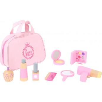 Pro holky - Dětská kosmetická taštička růžová