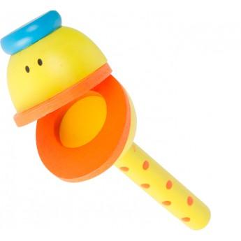 Dětské hudební nástroje - Klapačka Kačer