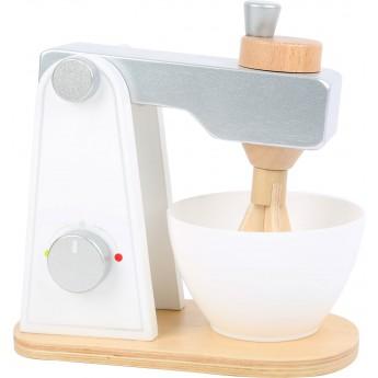 Dřevěný stolní mixér
