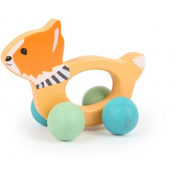 Pro nejmenší - Dřevěná liška Lex