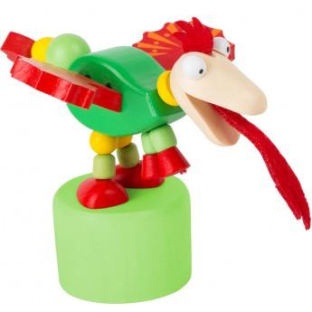 Motorické a didaktické hračky - Mačkací figurka Dráček Merlin