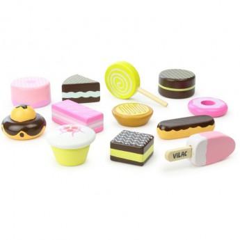 Pro holky - Set dřevěných sladkostí