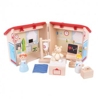 Pro holky - Hrací set Medvědí nemocnice