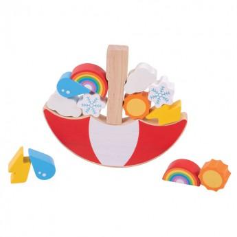 Motorické a didaktické hračky - Balanční hra - Počasí
