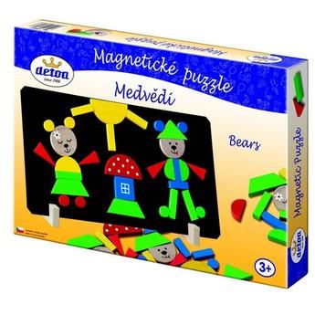 Puzzle - Magnetické puzzle medvědi