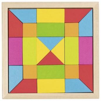 Hry a hlavolamy - Skládačka mozaika – duha, 24 díly