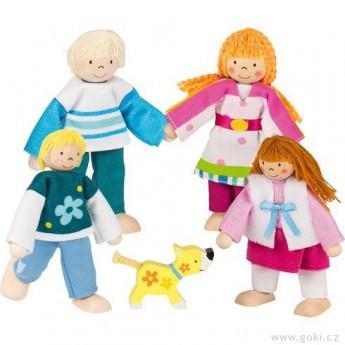 Pro holky - Panenky do domečku – rodina s pejskem, 5 dílů