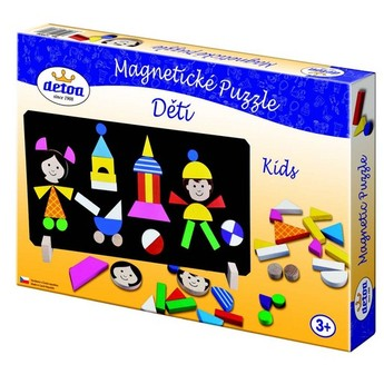 Magnetické puzzle děti