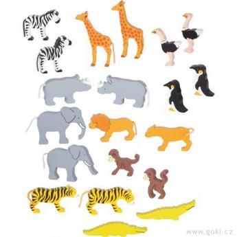 Africká zvířátka, 20 dílů