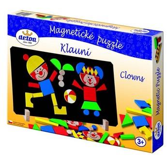 Puzzle - Magnetické puzzle klauni