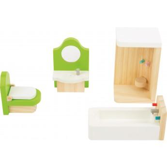 Pro holky - Nábytek pro panenky - Koupelna 4 díly