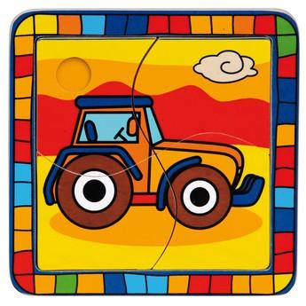 Puzzle - Puzzle mini - Traktor