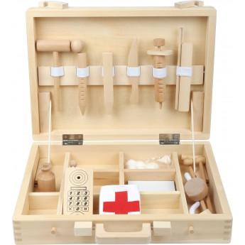 Pro holky - Dřevěný lékařský kufřík
