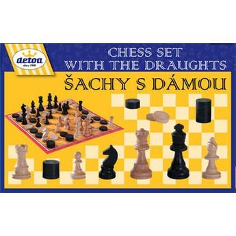 Hry a hlavolamy - Šachy s dámou