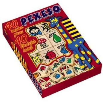 Hry a hlavolamy - Detoa pexeso zvířátka - 40 ks