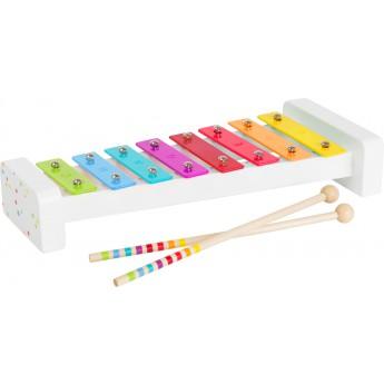 Dětské hudební nástroje - Xylofón barevný