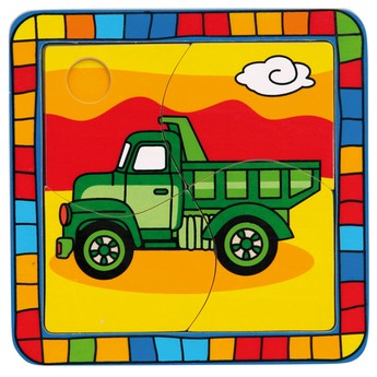 Puzzle - Puzzle mini - Náklaďák