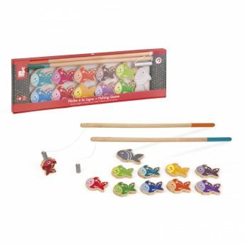 Motorické a didaktické hračky - Magnetický rybolov Let's Go Fishing