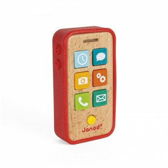 Pro nejmenší - Dřevěný mobil se zvuky