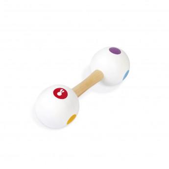 Dětské hudební nástroje - Dřevěná rumbakoule Confetti